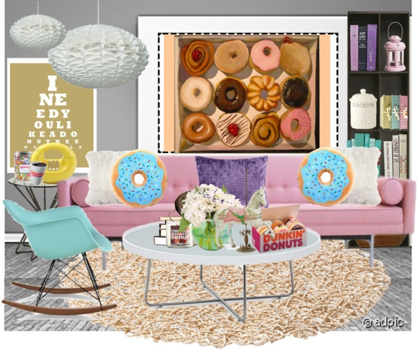 """donut room"" by strawberryapricotpie on Polyvore"