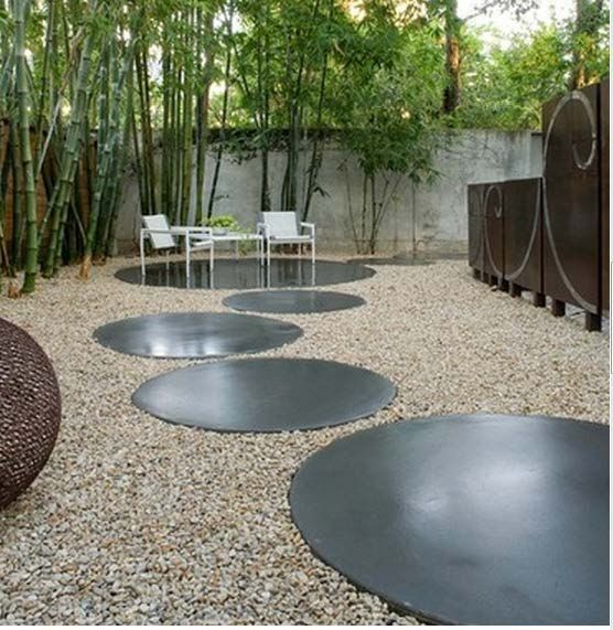 pavers and gravel designs | Continue with Facebook Sign up with Email - 25+ Beste Ideeën Over Round Pavers Op Pinterest - Kleine Bakstenen