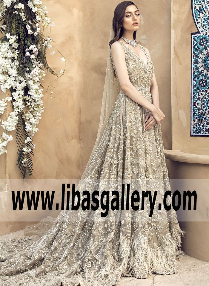 Breathtaking Designer Bridal Dress By Suffuse Shop Online Train Wedding Gown Usa Uk Canada Bridal Dress Design Pakistani Wedding Dresses Bridal Dresses 2018