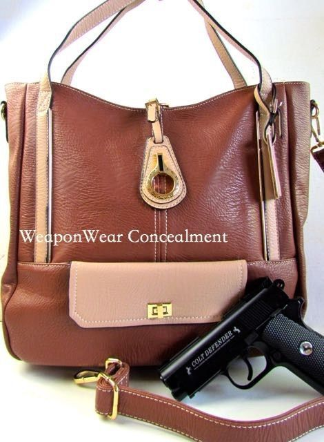 Concealment Purse New Style BROWN Concealed Carry CCW Holster Gun Tote Purse #48 | Clothing, Shoes & Accessories, Women's Handbags & Bags, Handbags & Purses | eBay!