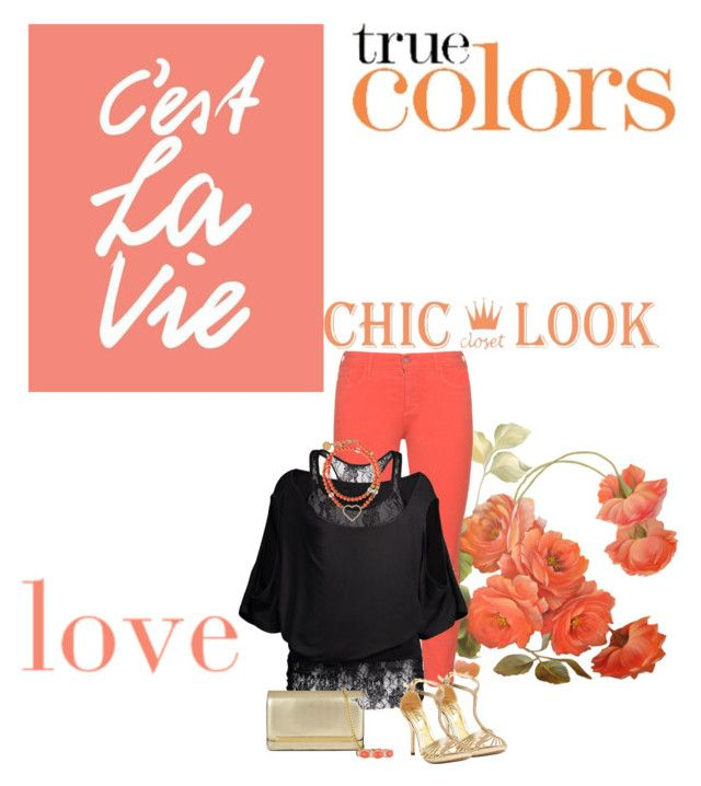 """Colored Jeans"" by ksims-1 ❤ liked on Polyvore featuring NYDJ, Ellie, ALDO and Verdi"