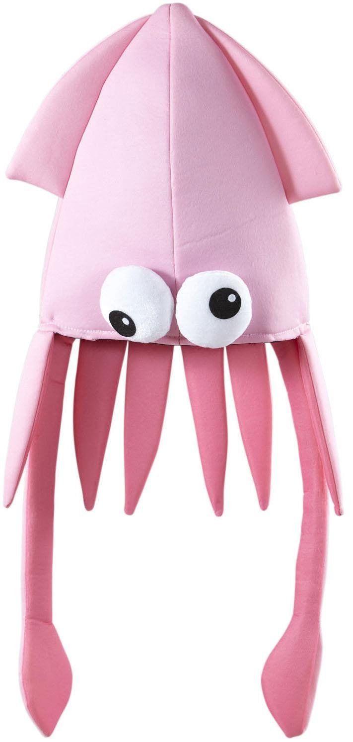 Widmann 02104 - Calamaro Gigante Cappello, Rosa, in Taglia Unica: Amazon.it: Giochi e giocattoli