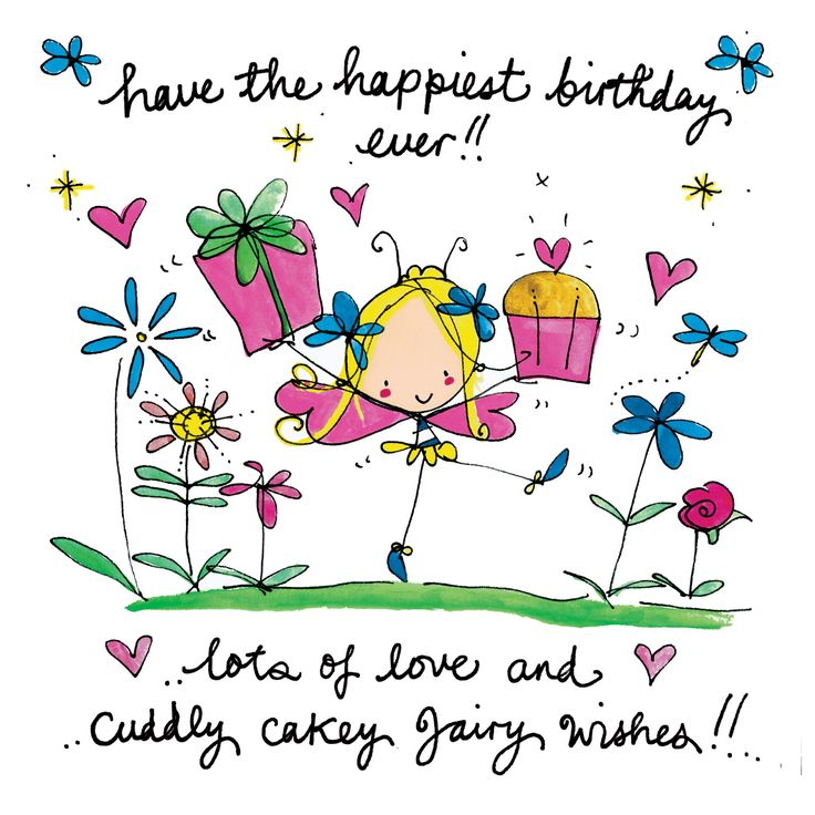 Have the happiest birthday ever...