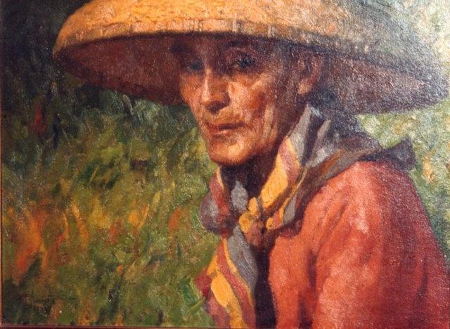 Katipunero - Fernando Amorsolo. Philippine Art. Art by Filipino Artists