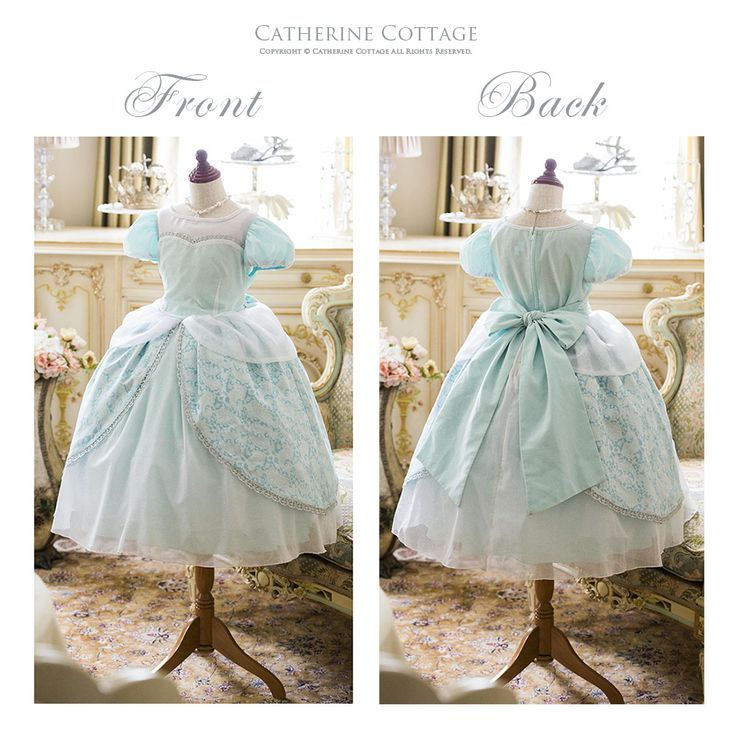 little cinderella kids costume