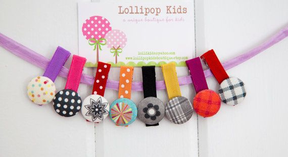 Hey, I found this really awesome Etsy listing at https://www.etsy.com/listing/129795878/hair-clip-for-babies-fabric-covered