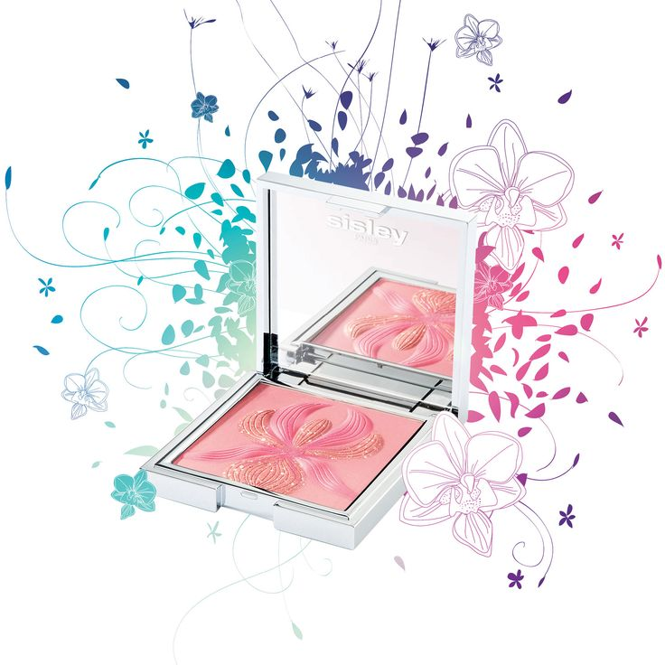 A highlighter blush that tints and enhances the complexion with a sheer and luminous covering.