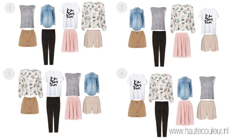 BLOG: Hoeveel kleding neem ik mee op vakantie? www.hautecouleur.nl