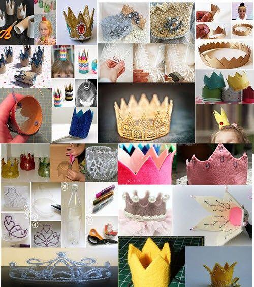 Топ самых простых  и красивых корон или Как сделать корону своими руками?