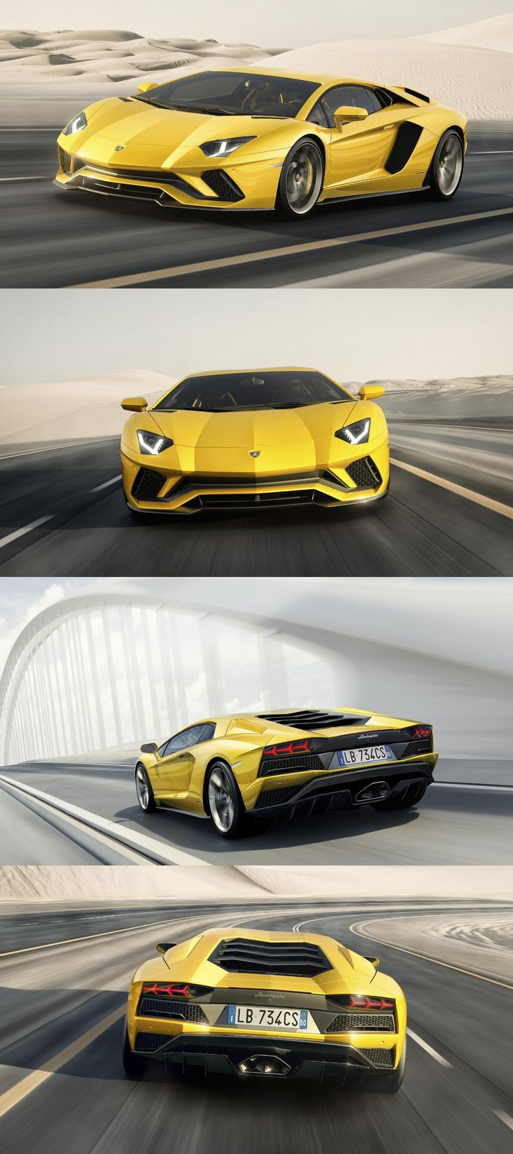 Lamborghini Aventador S Coupe Unveiled with 730 Horsepower