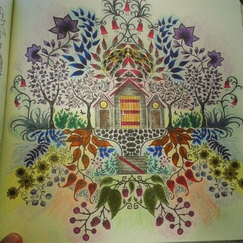 Johanna Stanford Basford Secret GardenSecret GardensColoring BookBook