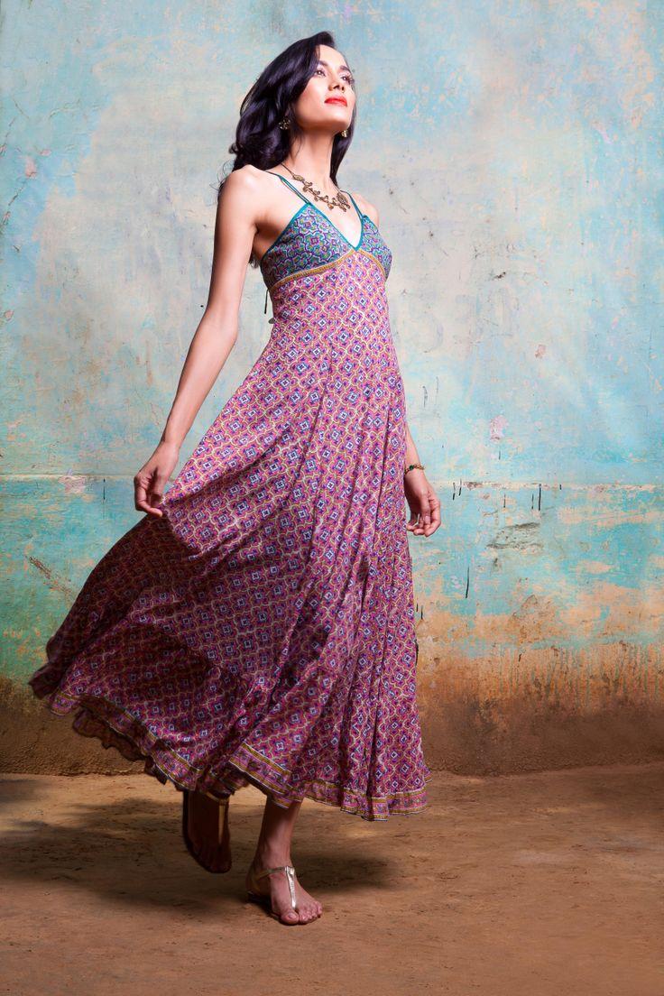 Peking - November 2013 #pretty #indian #fashion #dress #pink