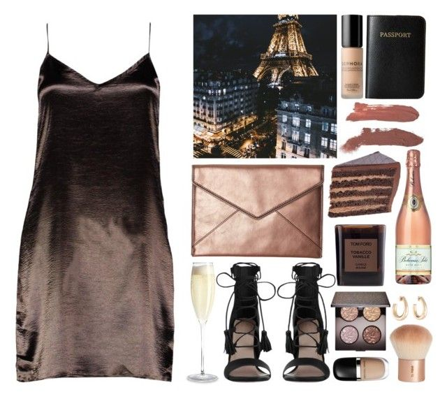 Geen titel #526 by s-ensible on Polyvore featuring Boohoo, Zimmermann, Rebecca Minkoff, Vera Bradley, Laura Mercier, H&M, Sephora Collection, Marc Jacobs and Tom Ford