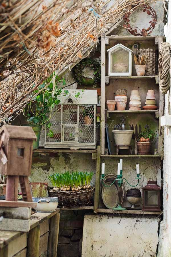Potting Shed / Old Crates