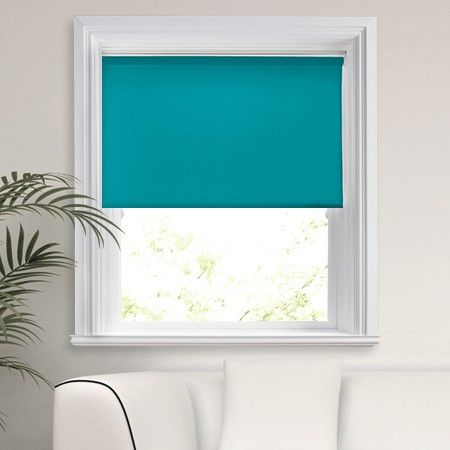 Unique Roma Teal Roller Blind