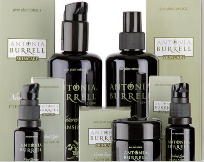 Antonia Burrell, Natural Skin Care