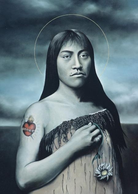 Maori modern art. Heather Straka