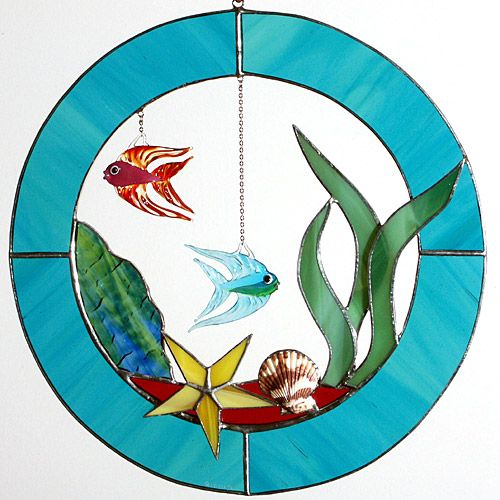 185 best images about stained glass fish ponds on for Stained glass fish patterns