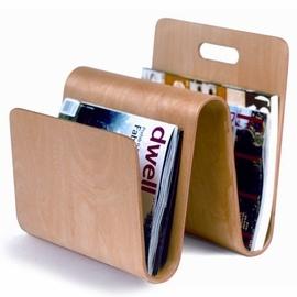 Molded Plywood Magazine Stand