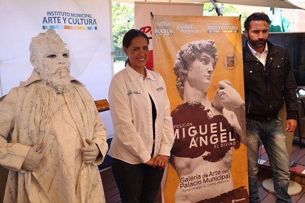 Ayuntamiento de Puebla afina detalles para abrir el exposición Miguel Ángel, El Divino