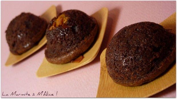 Bouchées de Brownie Tonka, Eclats de Nougatine -