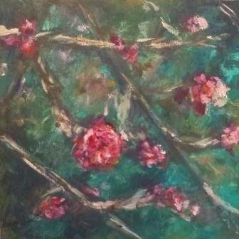 16 x 16, acryl op paneel