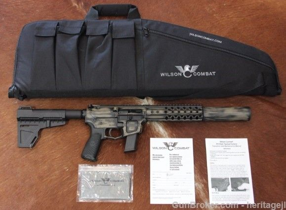 Wilson Combat AR9 Pistol & Whisper Can Combo NEW : Silencers