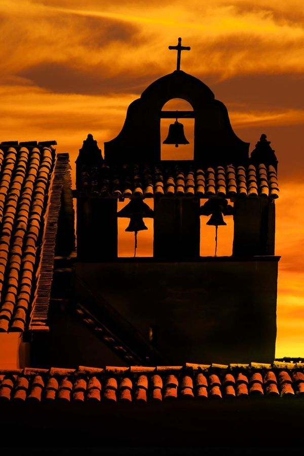 Bell Tower - La Purissima Mission, Lompoc, California