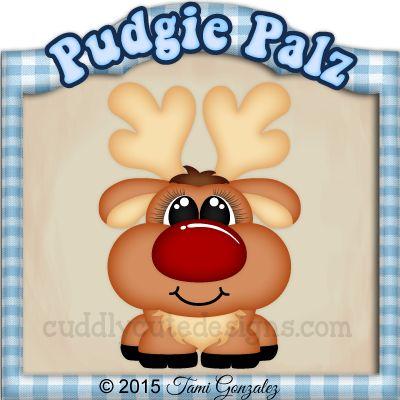 Pudgie Palz-Reindeer