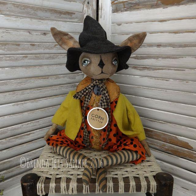 Brenda Jett Sanker Primitive Folk Art Dolls