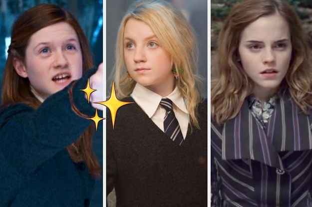 Are You More Like Luna Ginny Or Hermione Harry Potter Ginny Weasley Harry Potter Cast