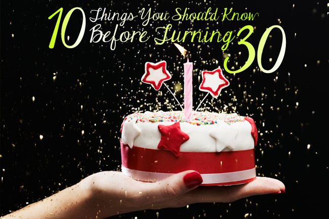 Financial and life skills you should master before you turn 30.