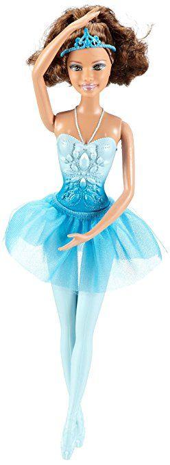 Mattel W2922 - Barbie Principessa ballerina, colore abito: Turchese