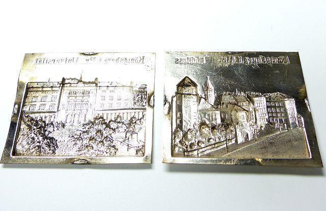 Zierteil Beschlag Applikation Buch wahrscheinlich Zinn - Bilder von Königsberg de.picclick.com