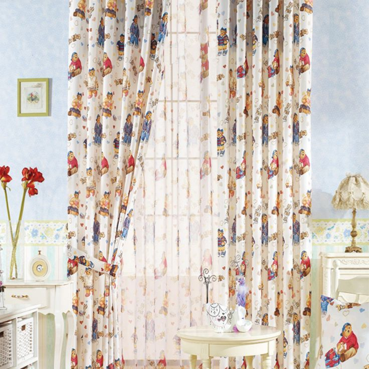 Animal Mediterranean Blue Kids Curtains  #kids #curtains #homedecor #nursery #custommade