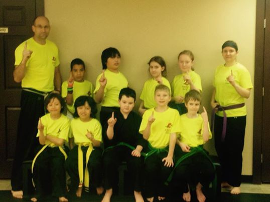Some of the members of the Deerfoot North competition team
