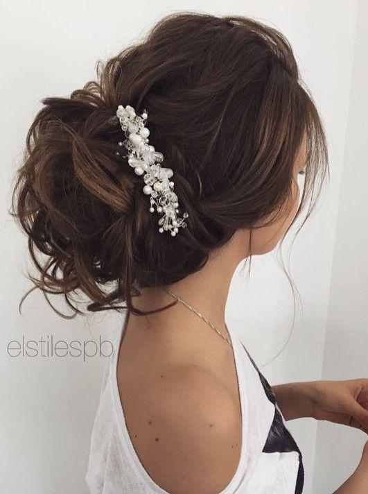 Elstile wedding hairstyles for long hair 65 - Deer Pearl Flowers / http://www.deerpearlflowers.com/wedding-hairstyle-inspiration/elstile-wedding-hairstyles-for-long-hair-65/