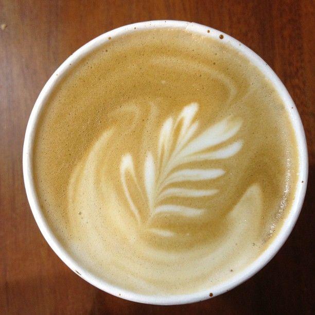 Tasty Blue Bottle Latte @ Cafe Duetto