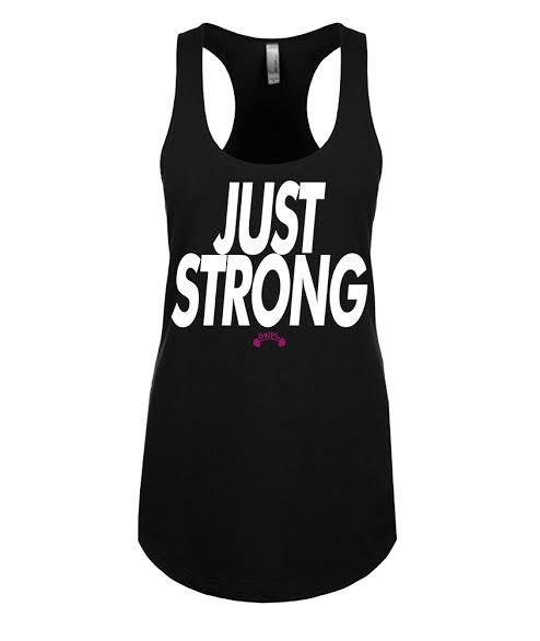 JUST STRONG - Black