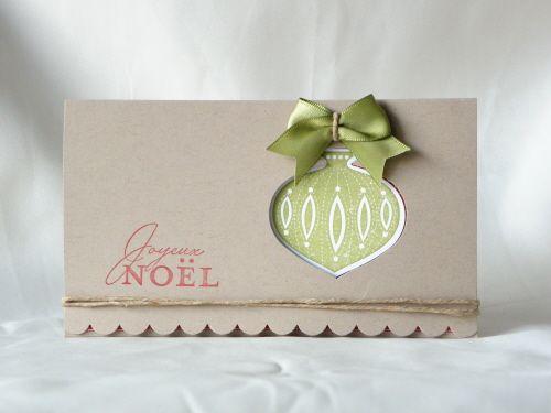 DIY Un tuto en images pour réaliser une pochette cadeau afin d'y glisser un billet, un chèque cadeau...