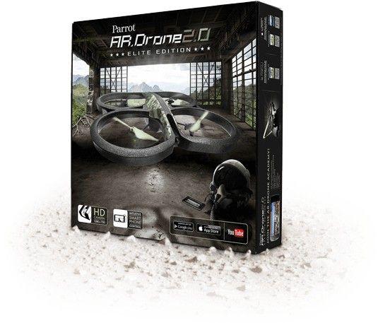 AR. DRONE 2.0 Elite Edition - Jungle - ToyTrade.dk