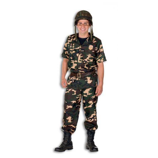 Leger soldaat kleding voor heren