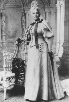 Elizabeth Keckley (1818-1907). Born in slavery in 1818. Bought her and her son's freedom. Worked as a seamstress in Washington D.C., where she met Mary Todd Lincoln. Was Mrs. Lincoln's personal modiste/fashion designer for six years. Founded Contraband Relief Association in 1862, to raise money for former slaves who had come to Union lines.Wrote an autobiography: Behind The Scenes