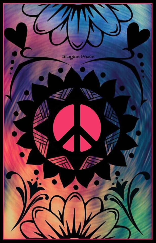 American Hippie Art....Peace Sign
