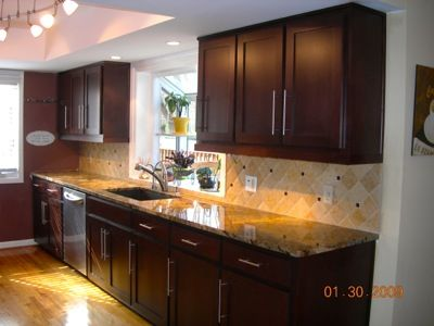 Cabinet refacing on pinterest kitchen cabinets red cabinets and