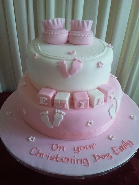 Emily's #Christening #cake created by Cannaboe Confectionery Check out more #christening #cakes for your little ones special day or as a #unique #gift at http://www.cacamilis.ie/christening/
