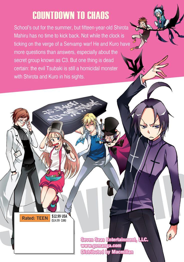 Servamp Manga Volume 3