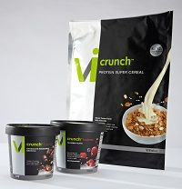 Protein Super Cereal, a patent-pending, high-protein, high-fiber ...