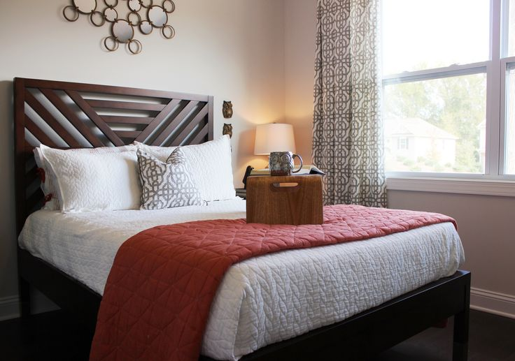 Essex homes wakefield model guest room west elm for West elm bedroom ideas