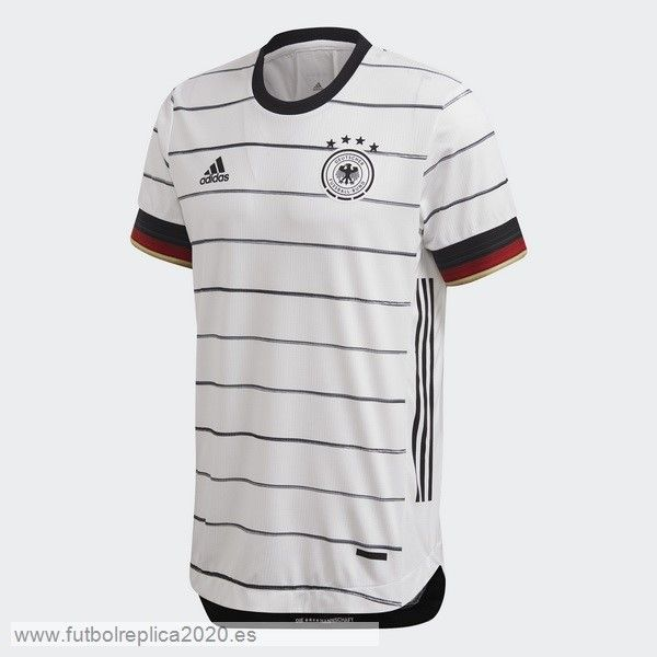 Casa Camiseta Alemania 2020 Blanco Baratas